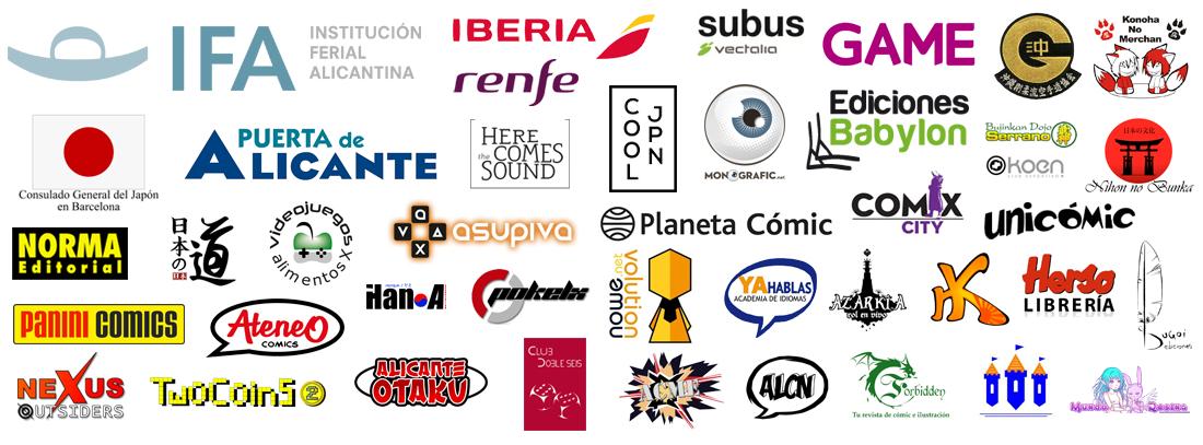 Colaboradores del Salón del Manga de Alicante